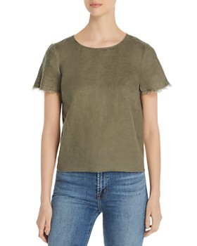 c0305d31100 Green Women's Tops: Graphic Tees, T-Shirts & More - Bloomingdale's