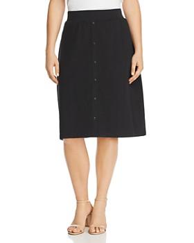 a3db2cd686 JUNAROSE Plus - Maci Button-Front Skirt ...