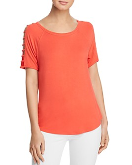 Avec - Sleeve-Cutout Top