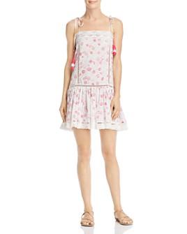 Place Nationale - L'Eden Floral Tie-Strap Mini Dress