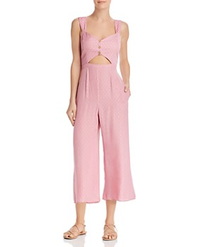 Show Me Your MuMu - Brighton Cropped Jumpsuit