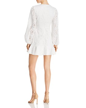 Keepsake - Harmony Eyelet Mini Dress