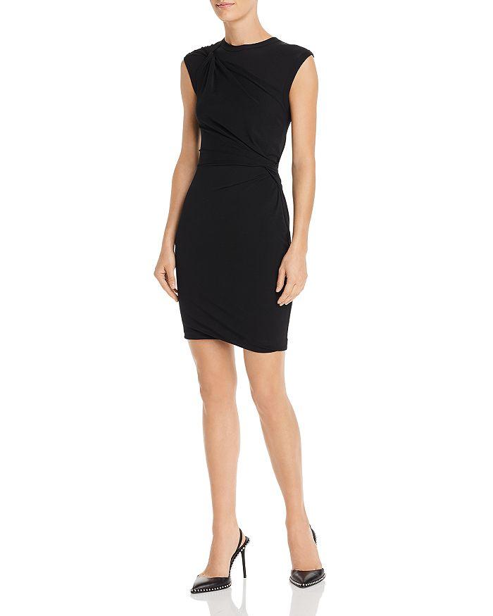 alexanderwang.t - Twisted Crepe Jersey Mini Dress