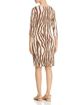 Leota - Celeste Zebra-Print Dress