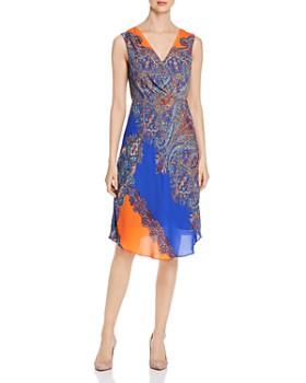 b80c6bf9de55f Elie Tahari - Agatha Sleeveless Printed Dress ...