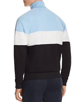Fred Perry - Embroidered Color-Block Sweatshirt