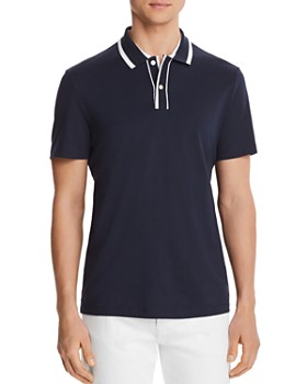 Michael Kors - Striped Collar Classic Fit Shirt - 100% Exclusive