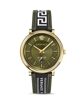 4323b1fe Versace - V Circle Greca Edition Watch, ...