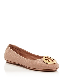 Tory Burch - Women's Minnie Quilted Ballet Flats