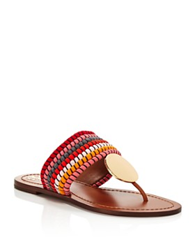 90e0323e2 Tory Burch - Women's Patos Disc Thong Sandals ...
