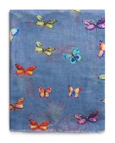 Gerard Darel - Aurelia Butterfly Print Scarf