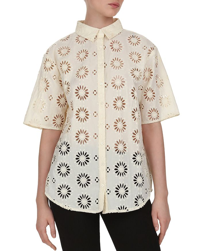 ba&sh - Buster Eyelet Shirt