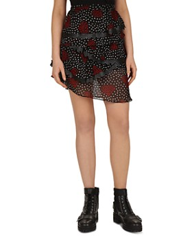 The Kooples - Heart Bouquet Skirt