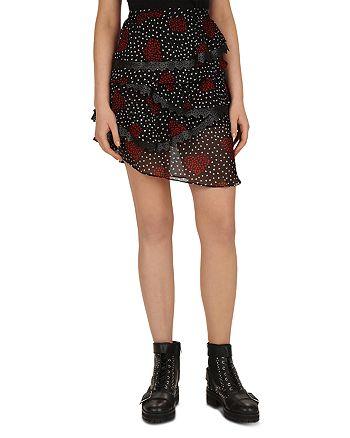 The Kooples - Heart Bouquet Skirt