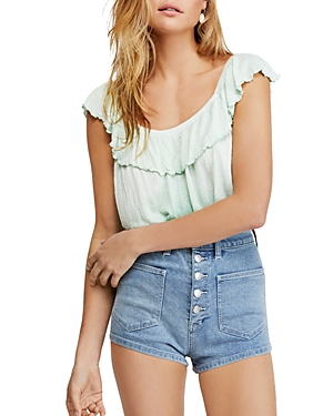 Free People Tops CORA LEE OMBRE TOP