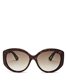 Dior - Women's Dior Extase Oversized Round Sunglasses, 58mm