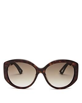 Dior - Women's Dior Extase Oversized Round Sunglasses, 58mm