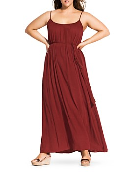 b69f2c0376e City Chic Plus - Paradise Maxi Dress ...