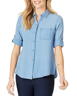 Foxcroft - Zen Textured Cotton Shirt