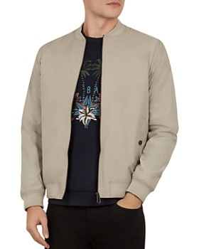 0ad58a4d0ec1 TRIPLE POINTS FOR LOYALLISTS IN MEN S. Ted Baker - Len Microfiber Bomber  Jacket ...
