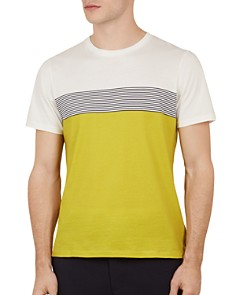 Ted Baker - Wabadoo Striped Crewneck Tee