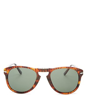 f7f2f8a5f Persol - Men's Polarized Round Fold-Up Sunglasses, ...