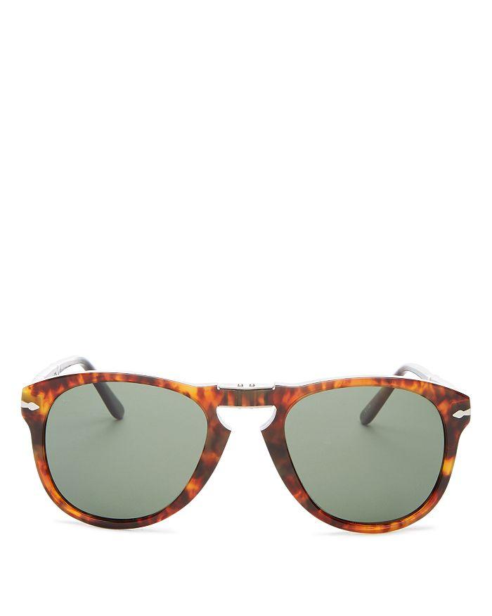 5b306490f7ce9 Persol - Men s Polarized Round Fold-Up Sunglasses