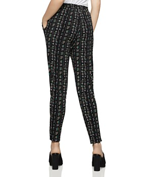 BCBGENERATION - Printed Jersey Jogger Pants
