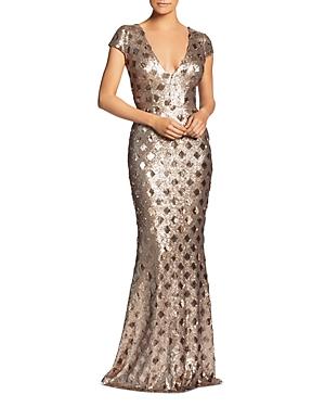 Vintage Dresses Australia- 20s, 30s, 40s, 50s, 60s, 70s Dress the Population Lina Sequined Mermaid Dress AUD 269.59 AT vintagedancer.com