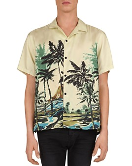 The Kooples - Summer Palms Regular Fit Shirt