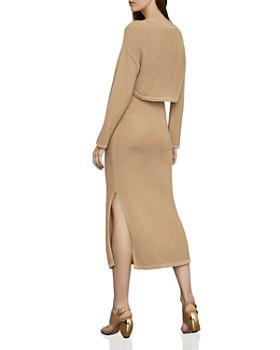0a1fb48abb1 ... BCBGMAXAZRIA - Two-Piece Midi Sweater Dress
