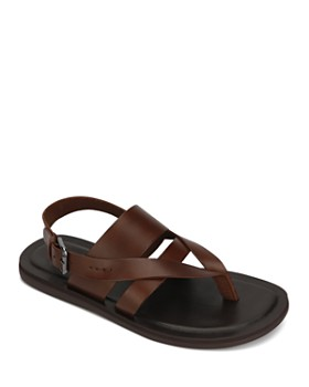 b74a65457 Kenneth Cole - Men s Ideal Leather Sandals ...