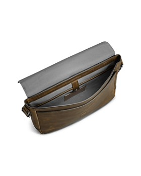 Shinola - Navigator Leather Slim Messenger Bag