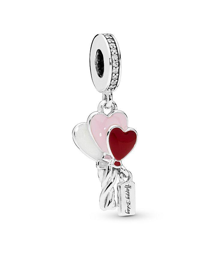Pandora - Sterling Silver Heart Balloons Drop Charm