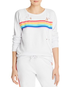 CHASER - Rainbow Stripe Sweatshirt