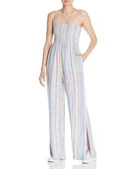 Bella Dahl - Striped Wide-Leg Jumpsuit
