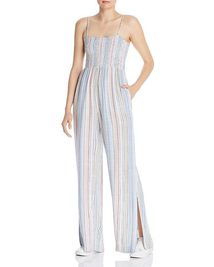 Bella Dahl - Striped Wide-Leg Jumpsuit