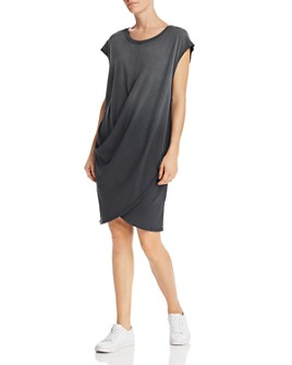 Current/Elliott - The Draped Jersey Dress