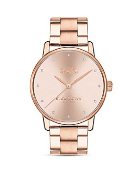 COACH - Rose Gold-Tone Stainless Steel Grand Watch, 36mm