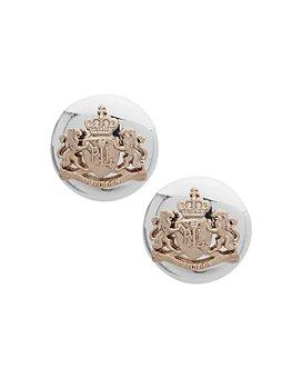 Ralph Lauren - Crested Stud Earrings