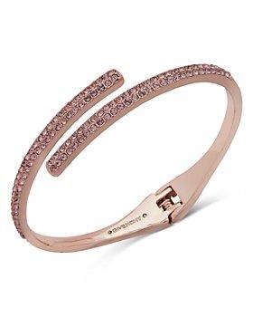 Givenchy - Pavé Bypass Bangle Bracelet