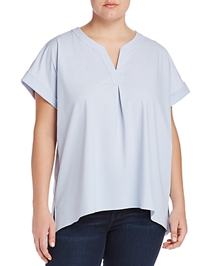 Lysse Plus Alessia Button-Back Top