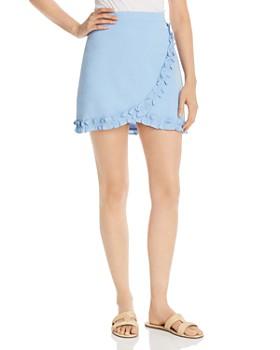 Lost and Wander - Bella Ruffle-Trim Mini Skirt
