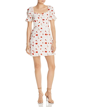 Charlie Holiday Valentine Floral Mini Dress