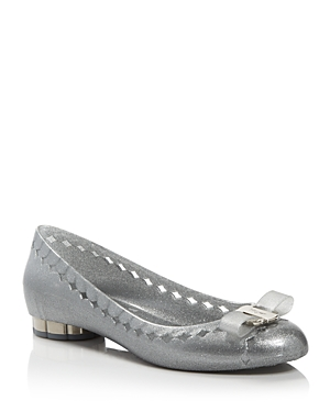 Salvatore Ferragamo Women's Jelly Ballet Flats