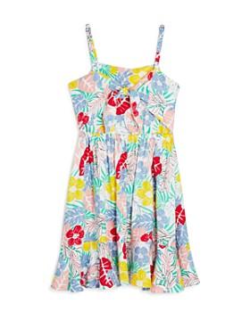 BCBGirls - Girls' Floral Print Fit-and-Flare Dress - Little Kid