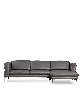 Giuseppe Nicoletti Paraide Large 2 Piece Sectional Right Facing Chaise