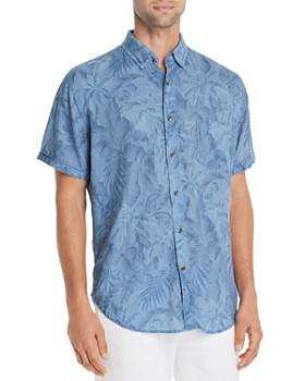 Rails - Carson Short-Sleeve Palm Tree-Print Slim Fit Shirt