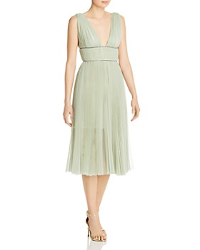 Maria Lucia Hohan - Kylie Pleated Tulle Midi Dress