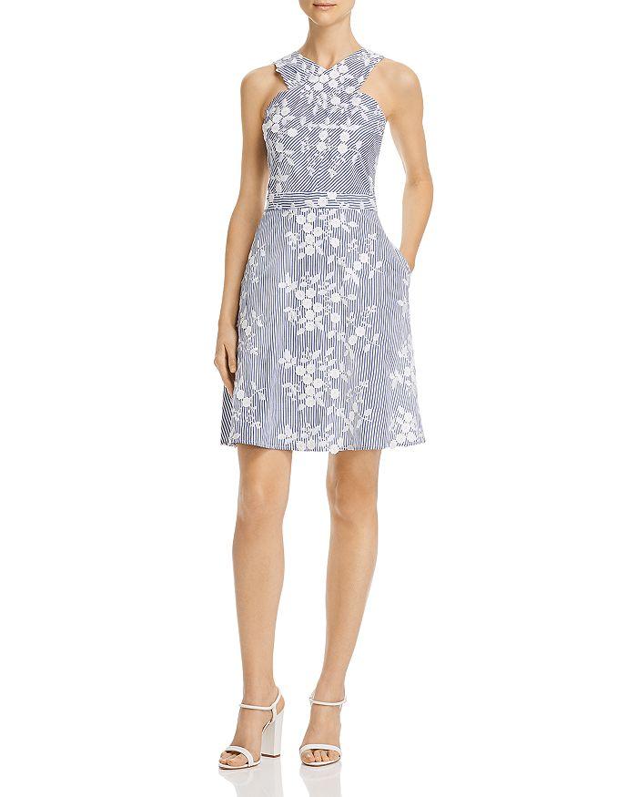 Sam Edelman - Floral-Embroidered Dress